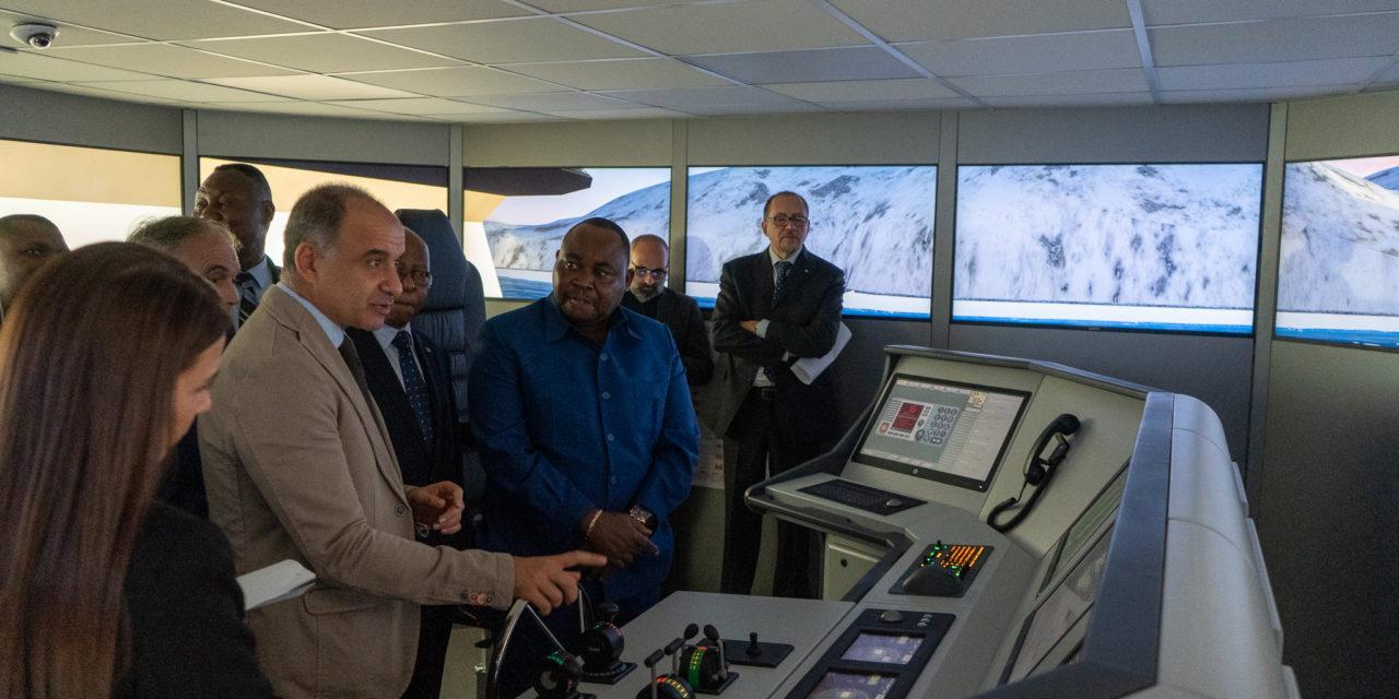 Visita Ministro del Congo