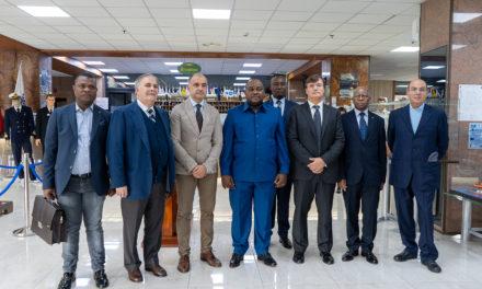 Il ministro dei trasporti della Repubblica Democratica del Congo visita l'accademia IMAT