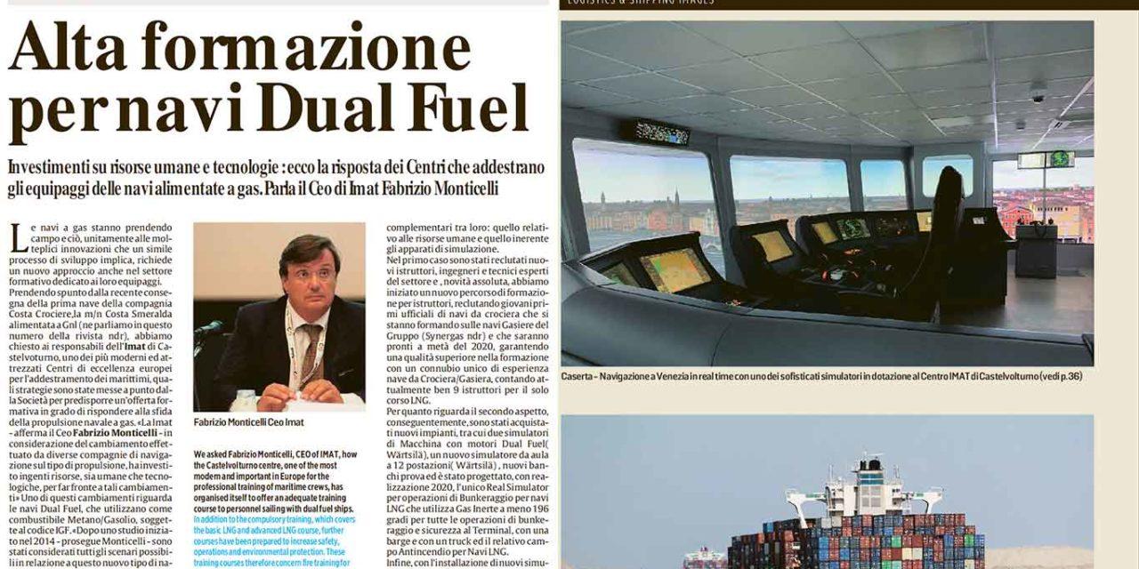 Alta formazione per navi Dual Fuel