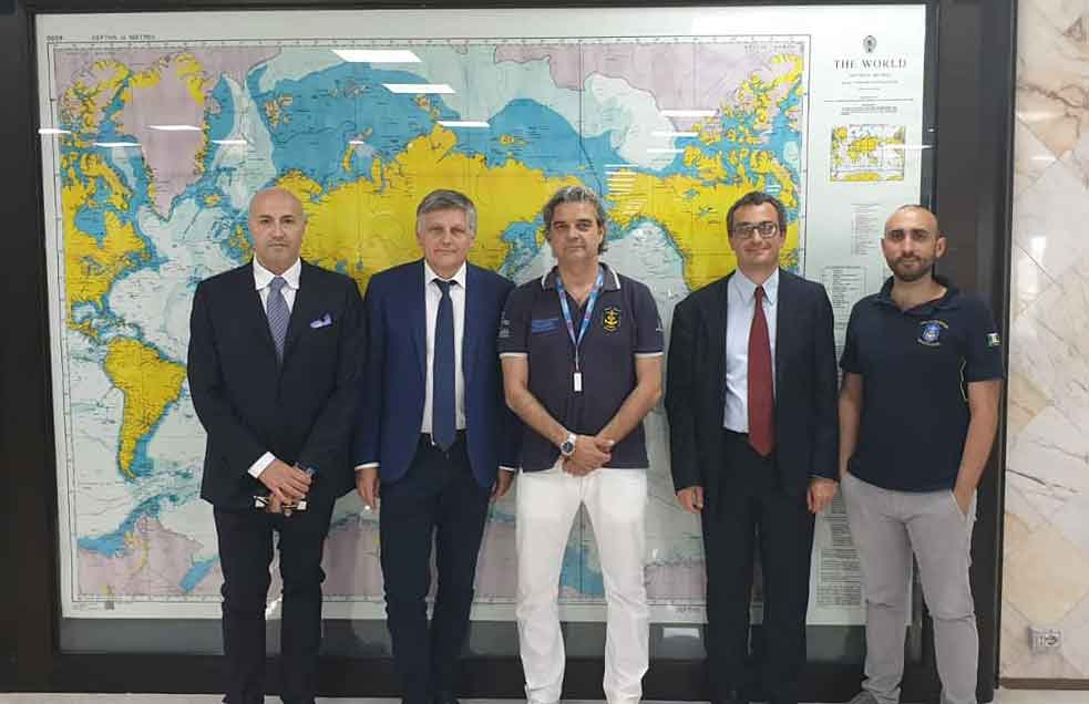 "Visit of Undersecretary Gaetti at the IMAT ""symbol of rebirth and excellence of our country"""